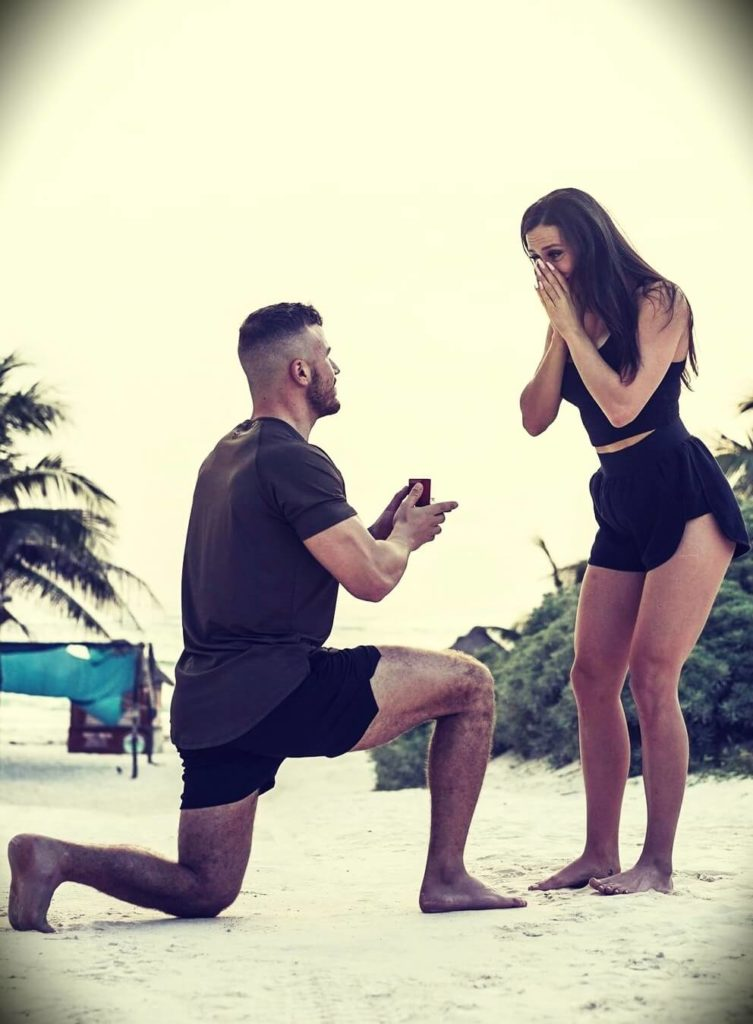 David de las Morenas aka How to Beast with his fiancée Julia