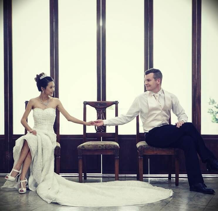 Jen Chae (From Head To Toe) with her husband Ben