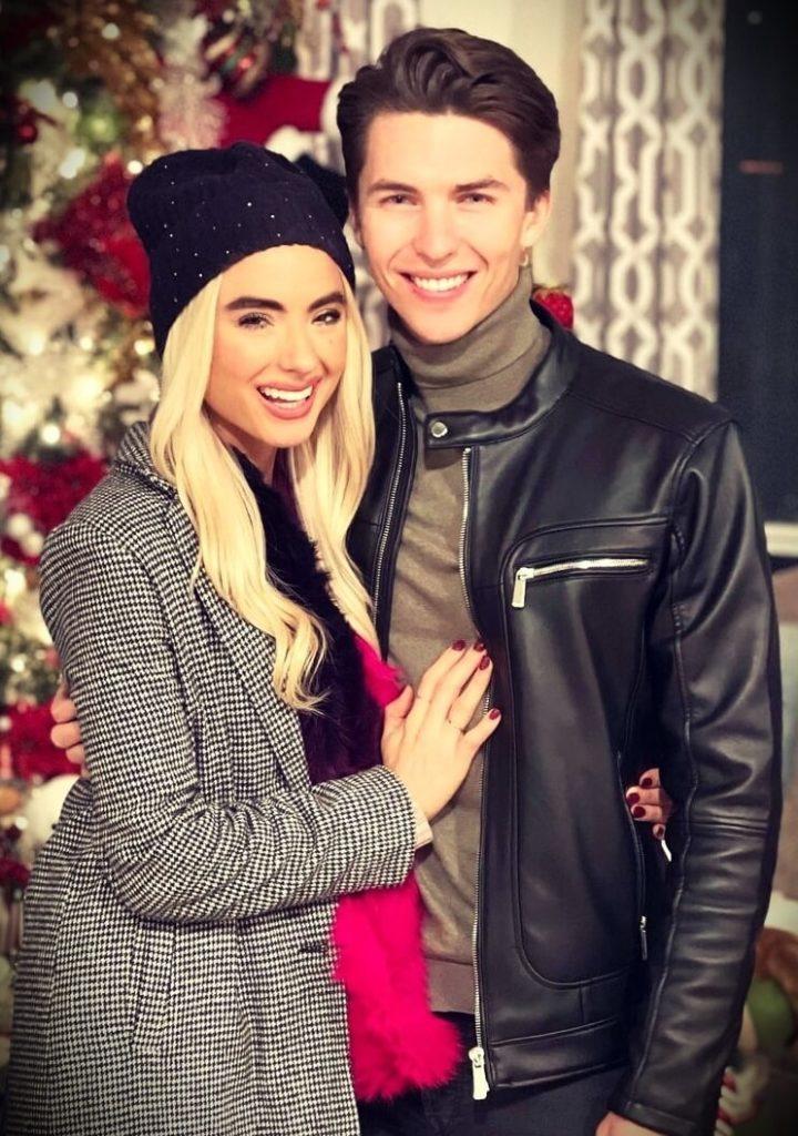 Justin Burke's girlfriend Lala Main