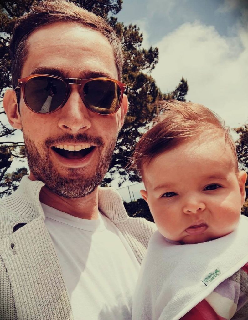 Kevin Systrom with his wife Nicole Systrom