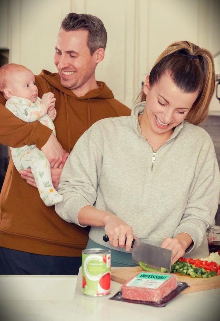 Nikole Goncalves (HealthNut Nutrition) with her husband Matt