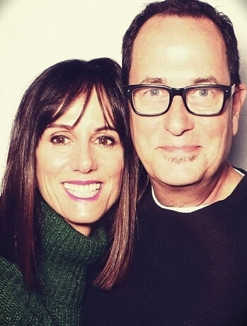 Sam Zien (Sam the Cooking Guy) with his wife Kelly Zien