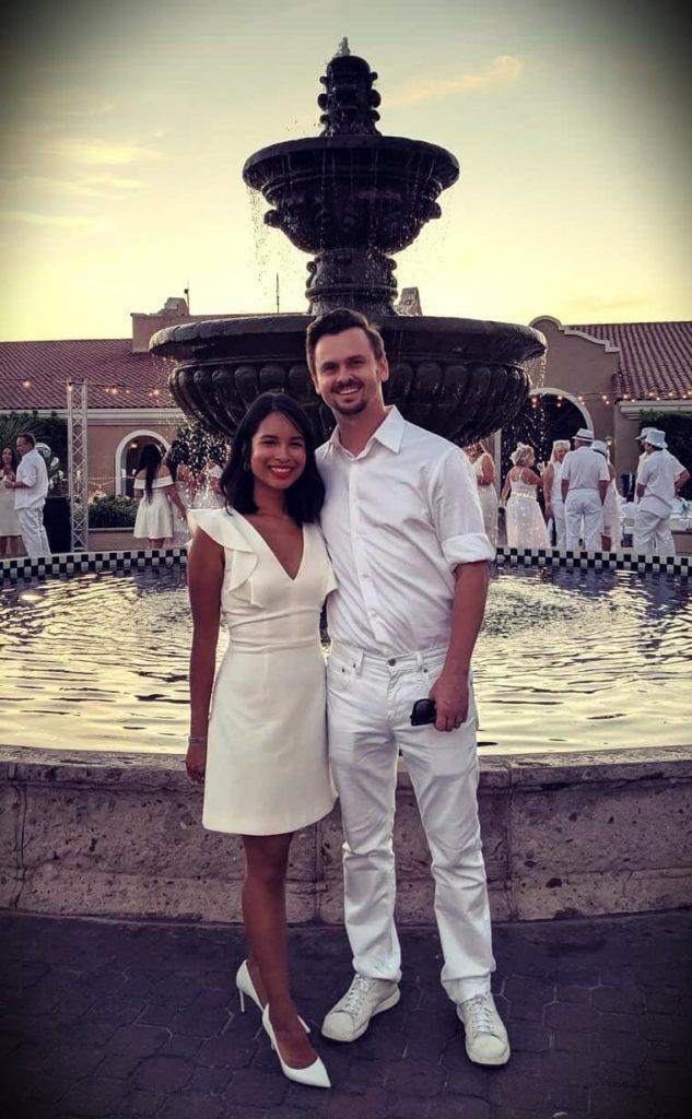 Stan Prokopenko with his wife Melissa Aguillon Prokopenko