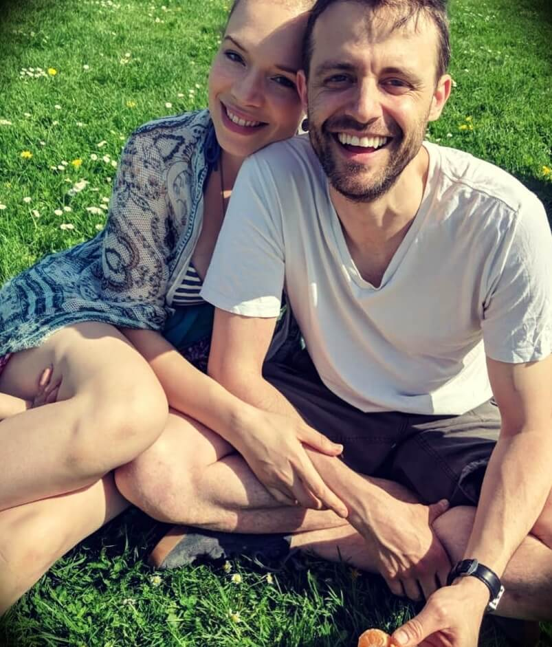 Steve Mould with his wife Lianne Moseley-Mould