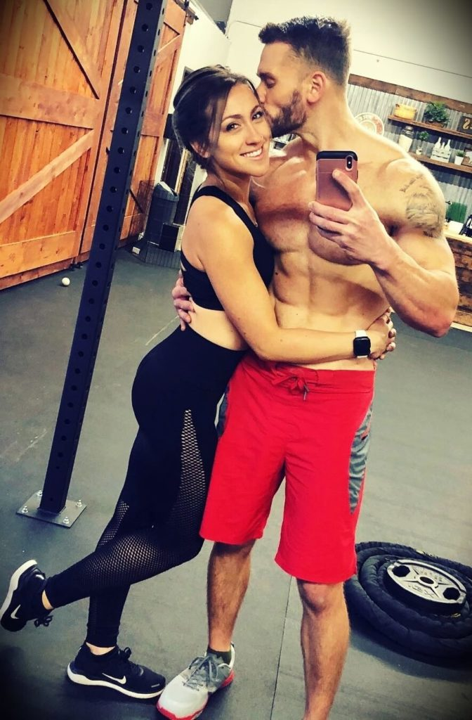 Thomas DeLauer with his wife Amber DeLauer