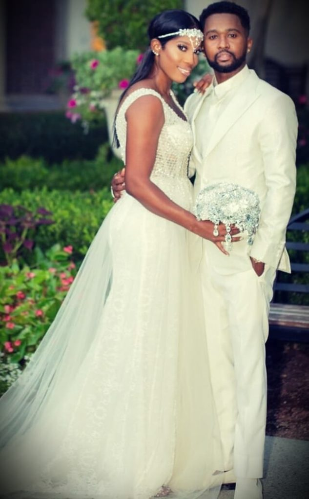 Zaytoven with his wife Stephanie Dotson