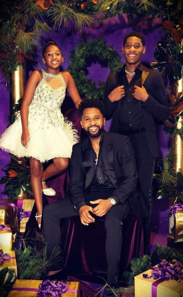 Zaytoven with his children