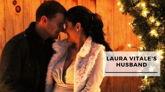 You are currently viewing 9 Rare Pics Of Laura Vitale With Her Husband