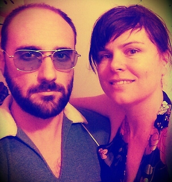 Michael Stevens with his wife Marnie Stevens