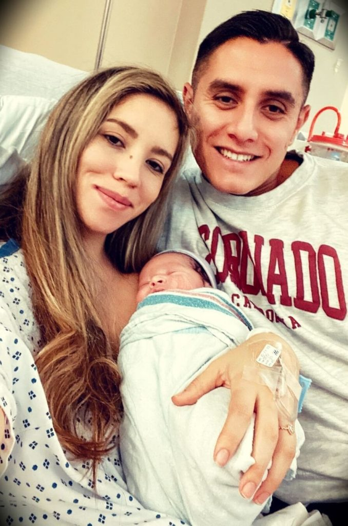 Abigail Aguilar (Life as a Mommy) with her husband Luis Aguilar