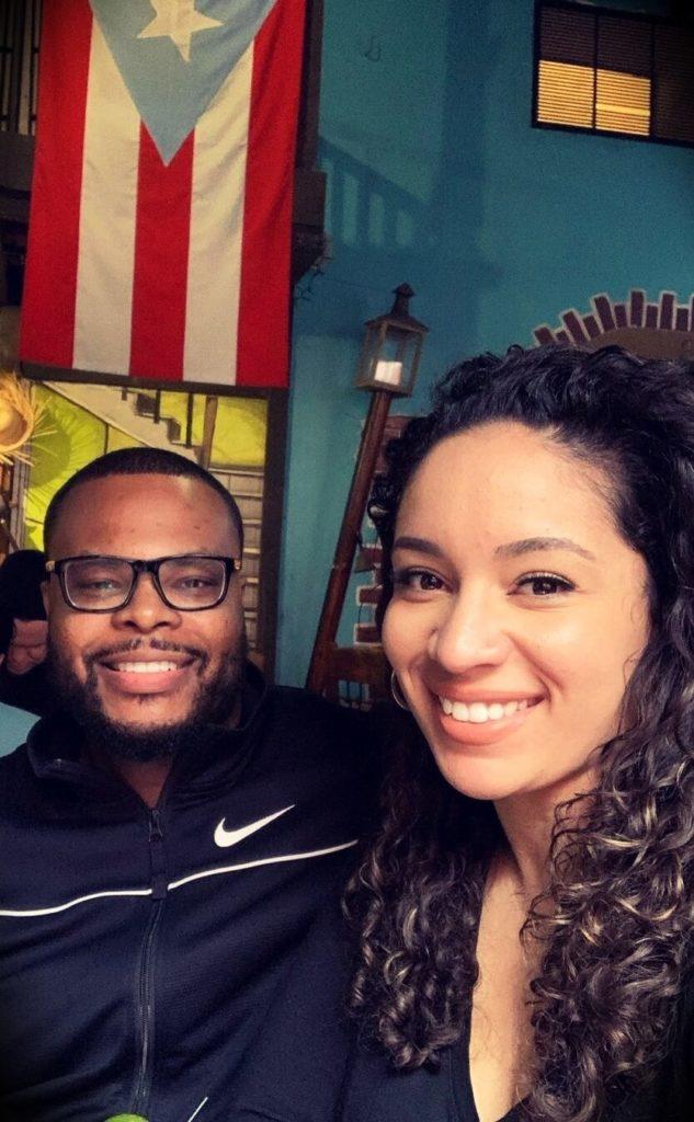 Doctor Antonio J. Webb with his wife Ariana Webb