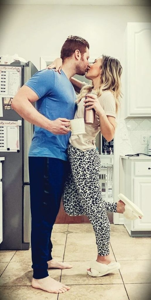 Brianna K with her husband Adam K