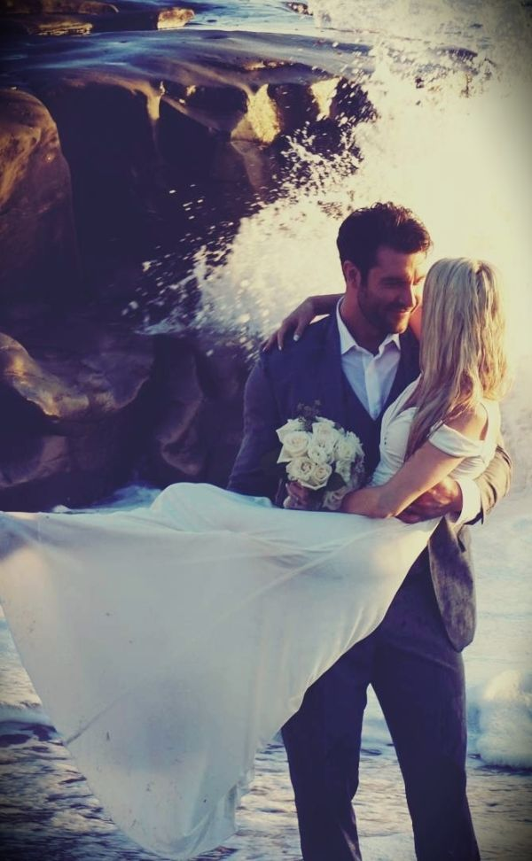Brittany Vasseur with her husband Ryan Thomas