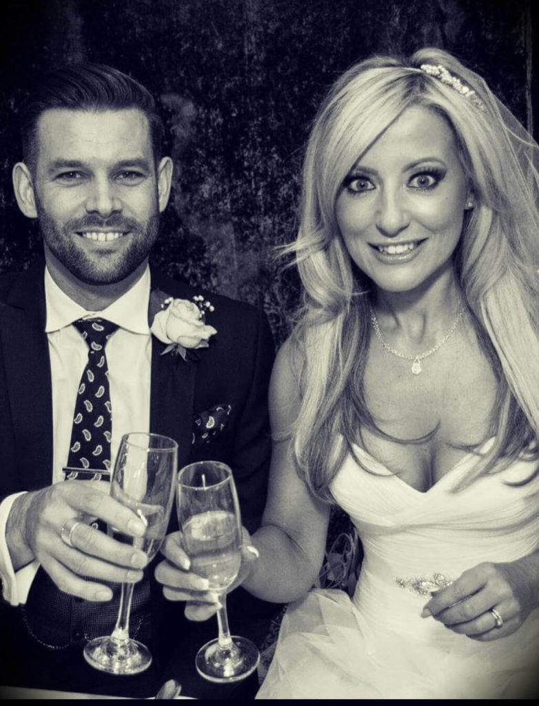 Chris Ryan (ChrisRyanGolf) with his wife Nikki Ryan