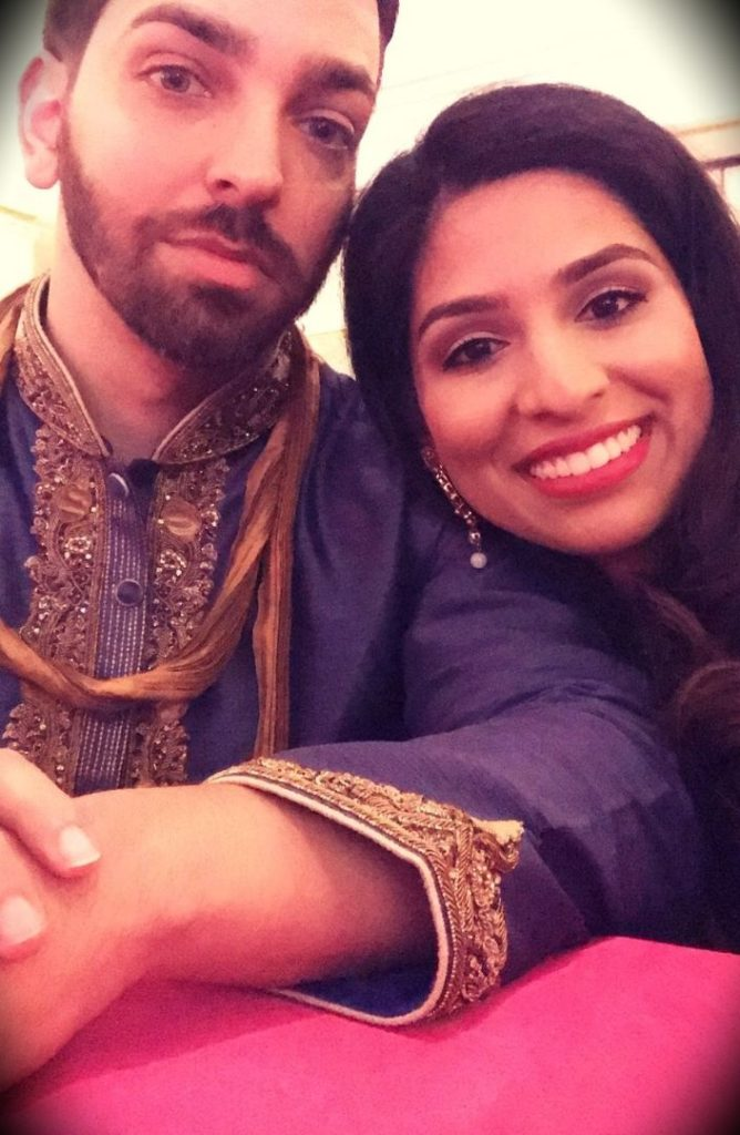 Dr. Muneeb Shah with his wife
