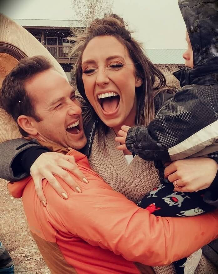 Jordan Page (FunCheapOrFree) with her husband Bubba Page
