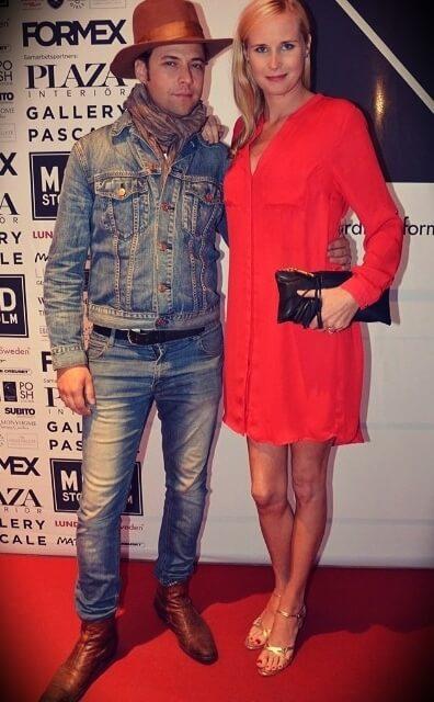 Julien Magic (real name: Julien Dauphin) with his wife Åsa Dauphin