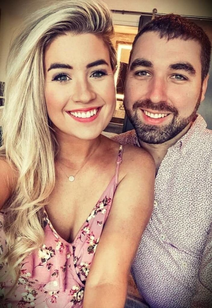 Megan Hickman aka Love Meg with her husband Justin Hickman