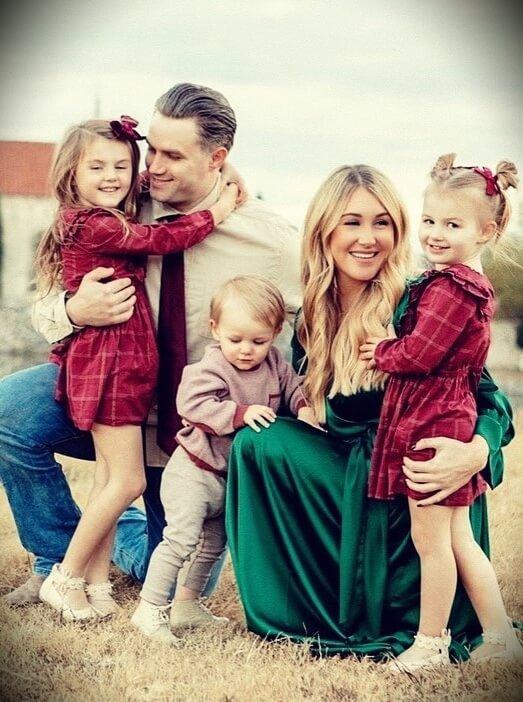 Tara Henderson with her husband Adam Henderson