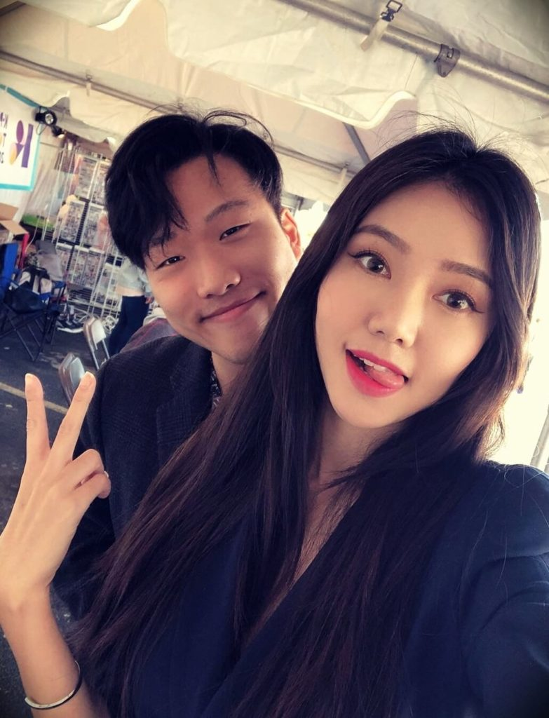 Angel (Beautifymeeh) with her husband Aiden Kim