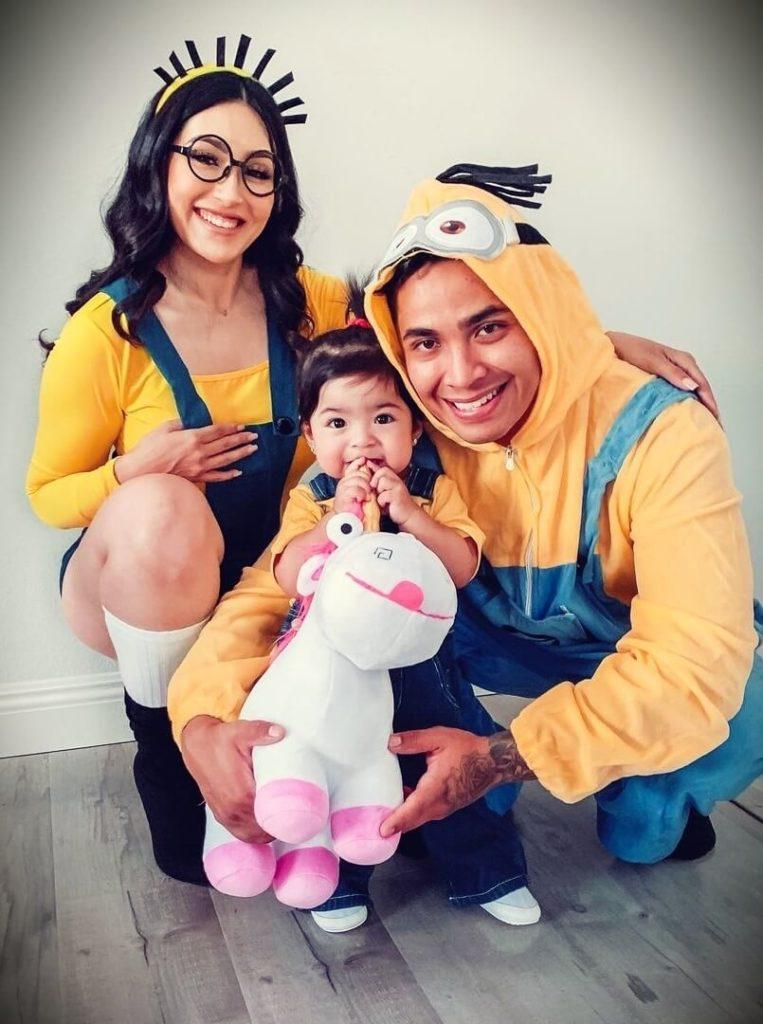 Yasmin (BeautyyBird) with her husband Valentin Torres