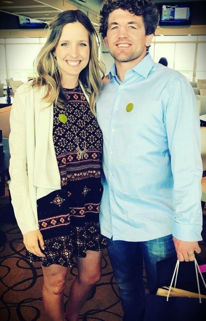 Ben Askren with his wife Amy Askren