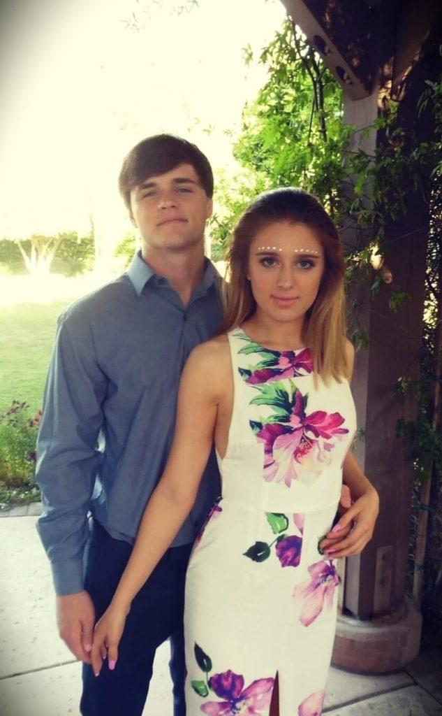 Brianna White with her husband Jaelin White