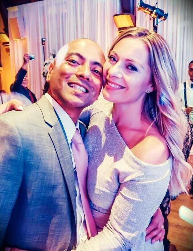 Christy Gior with her husband Ed Gior