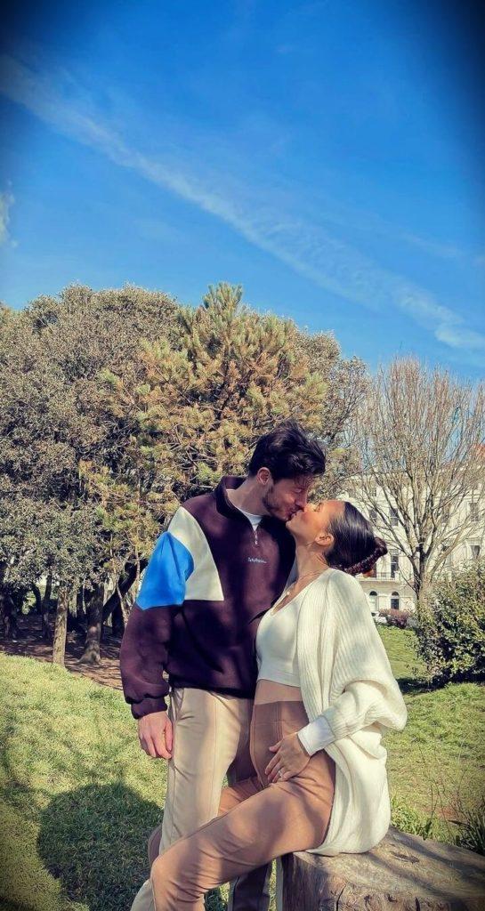 Imogen Horton (Imogenation) with her husband Spencer Horton