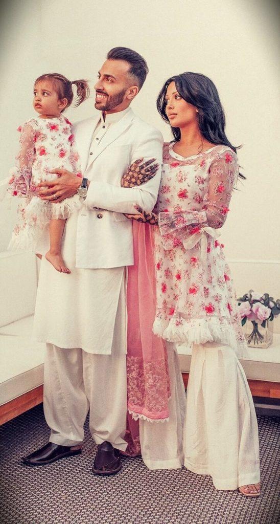 Irene Khan (irenesarah) with her husband Waseem Stark