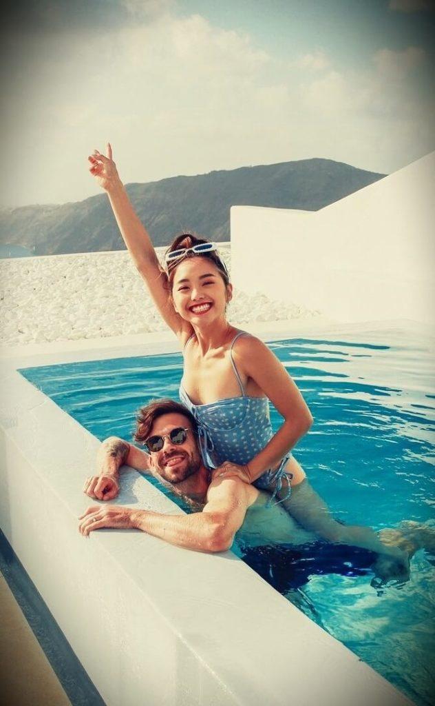 Jenn Im with her husband Ben Jolliffe