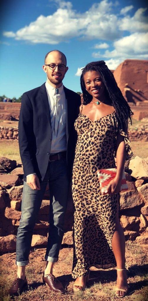Jenné Claiborne (SweetPotatoSoul) with her husband Maxx Loup