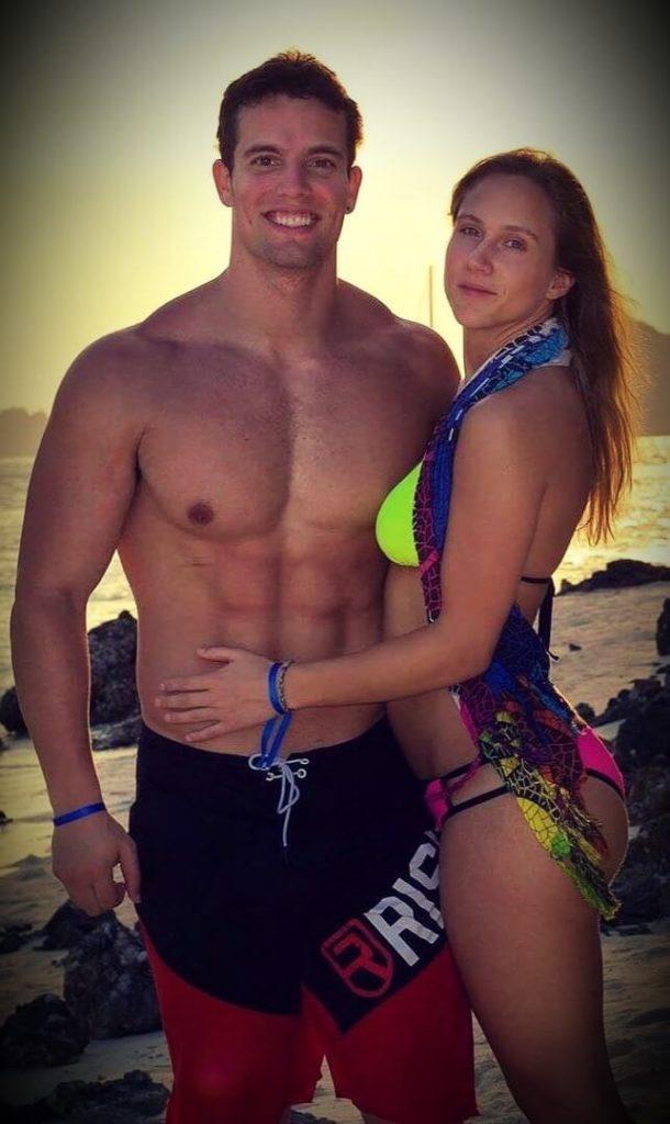 Jon Venus with his wife Kathrine Moen