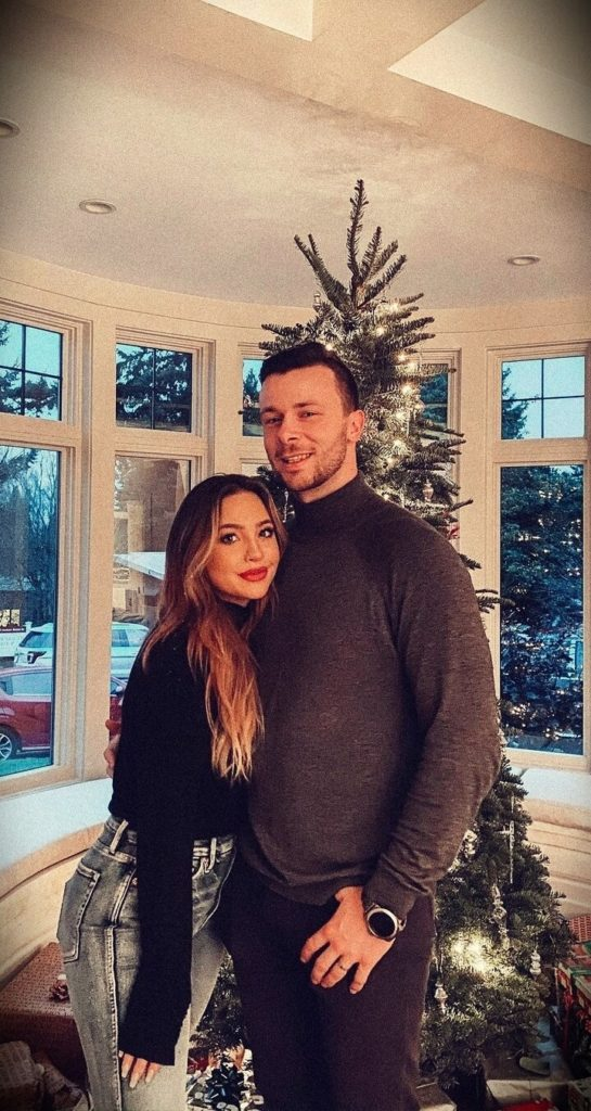 Kailin Chase with her husband Brady Rusch