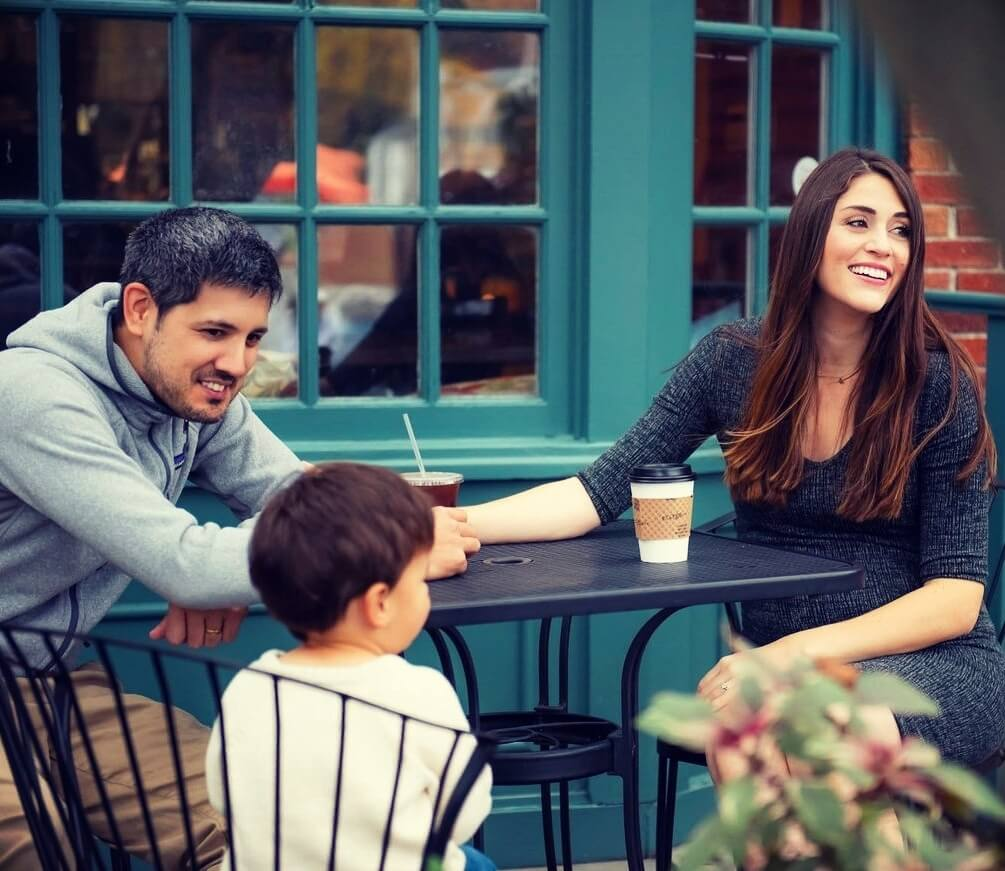 Kallie Branciforte (But First, Coffee) with her husband Michael Branciforte