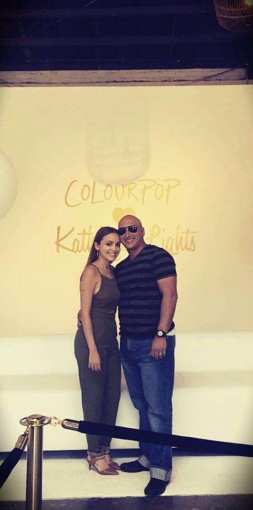 KathleenLights with her husband Daniel Fuentes