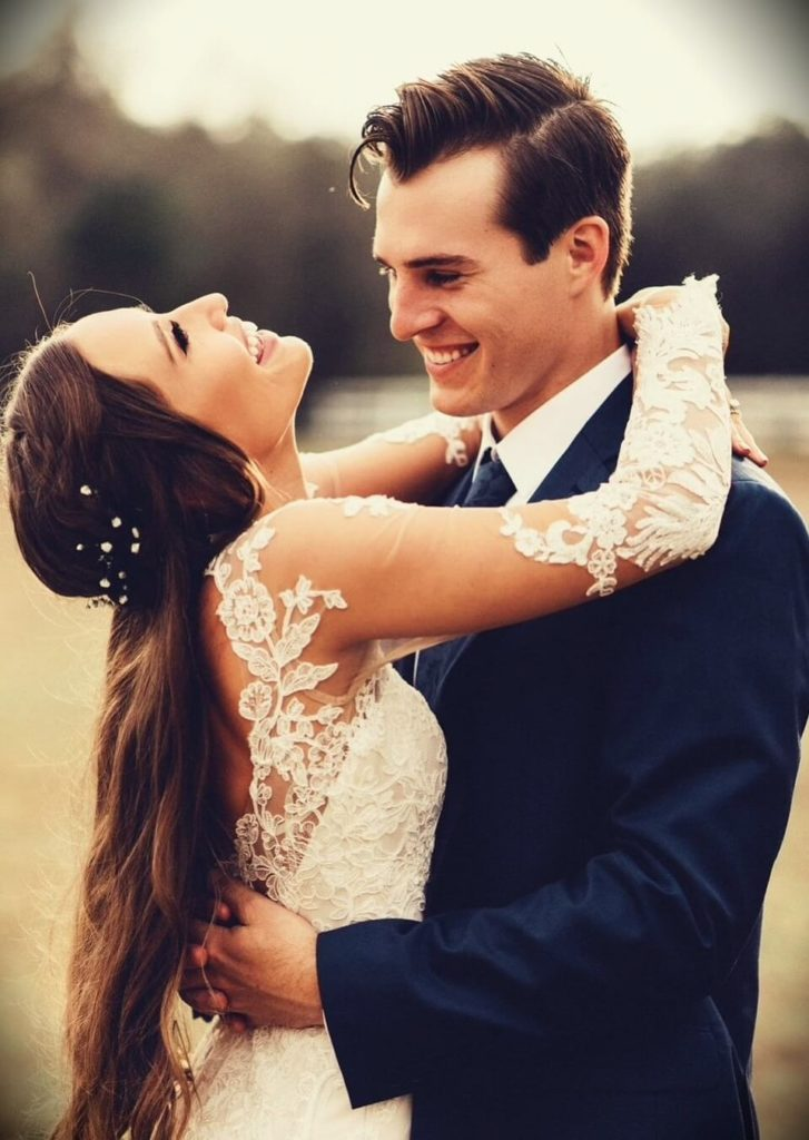 Kristin Johns with her husband Marcus Johns
