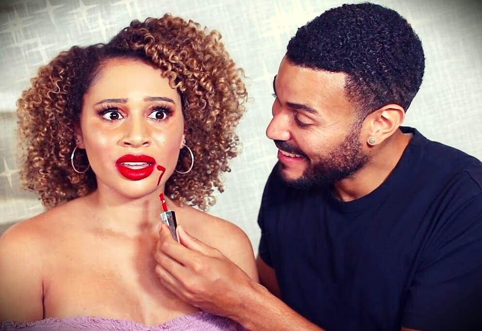 Luhhsetty (Lisette) with her new boyfriend Brandon Ramon Williams