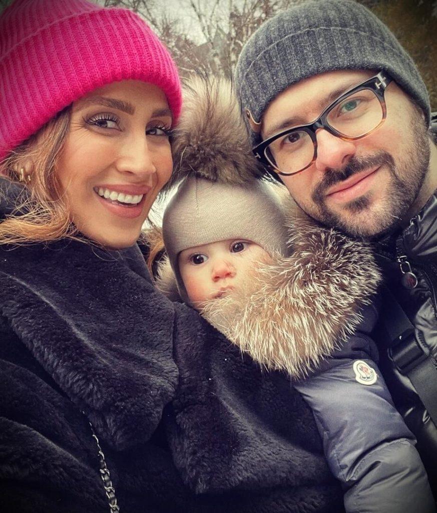 Niki Sky with her husband