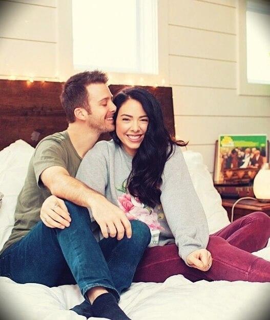 Nikki Phillippi with her husband Dan Phillippi