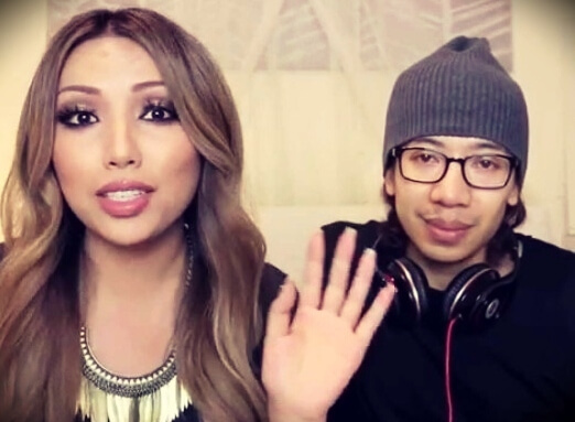 Promise Tamang (dope2111) with her husband Steve Phan