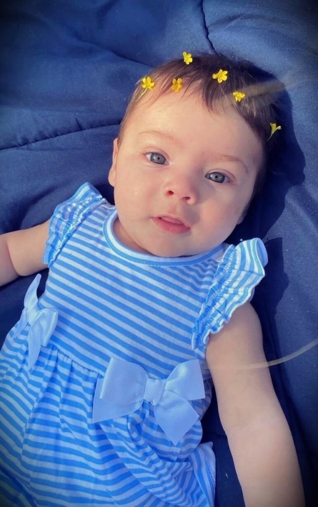 Ryan Garcia's daughter Rylie Garcia