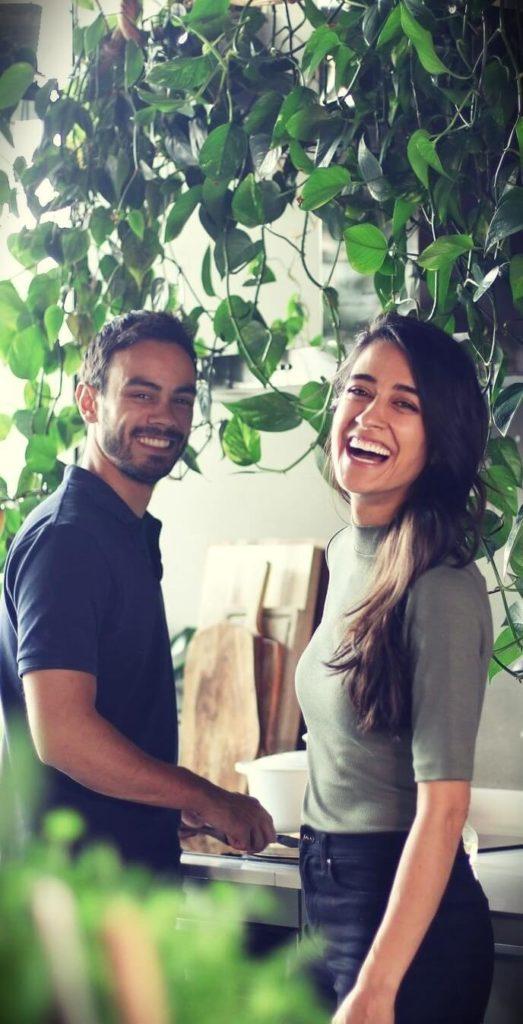 Sadia Badiei (Pick Up Limes) with her boyfriend Robin