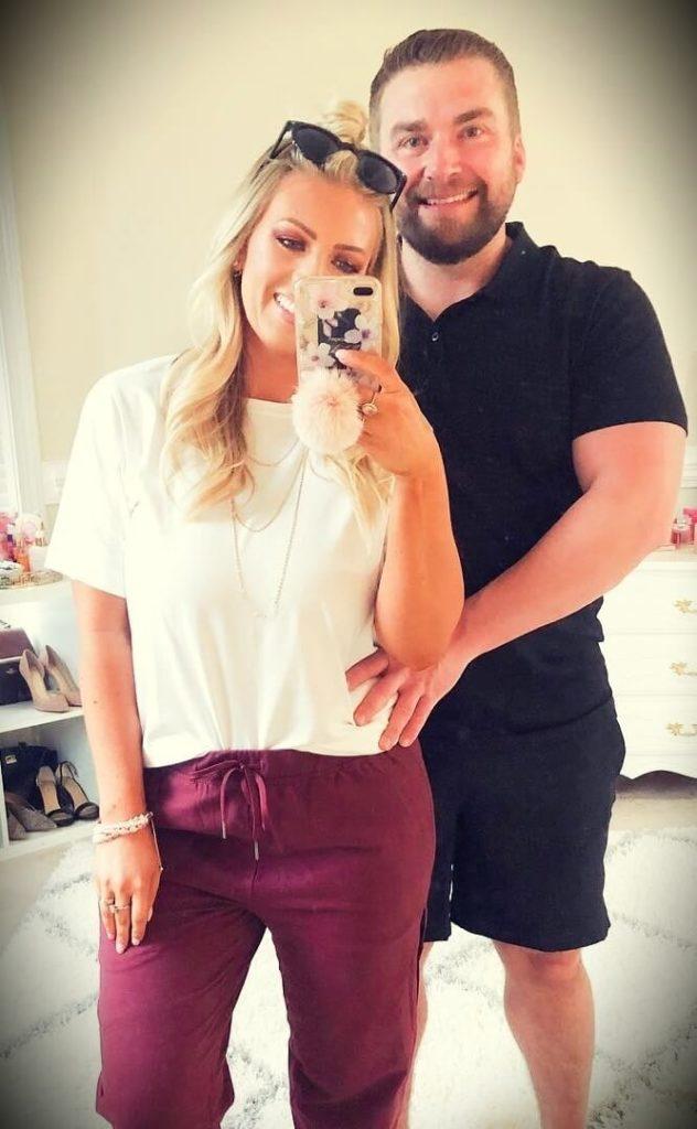 Samantha Schuerman with her husband Jay Schuerman