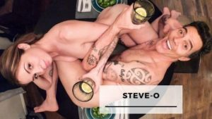 10 Craziest Pics Of Steve-O With His Fiancée