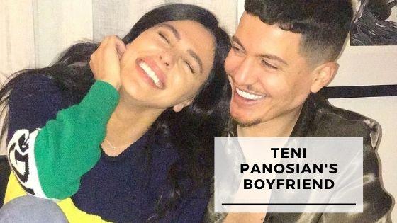 Rare Pics Of Teni Panosian With Her Boyfriend