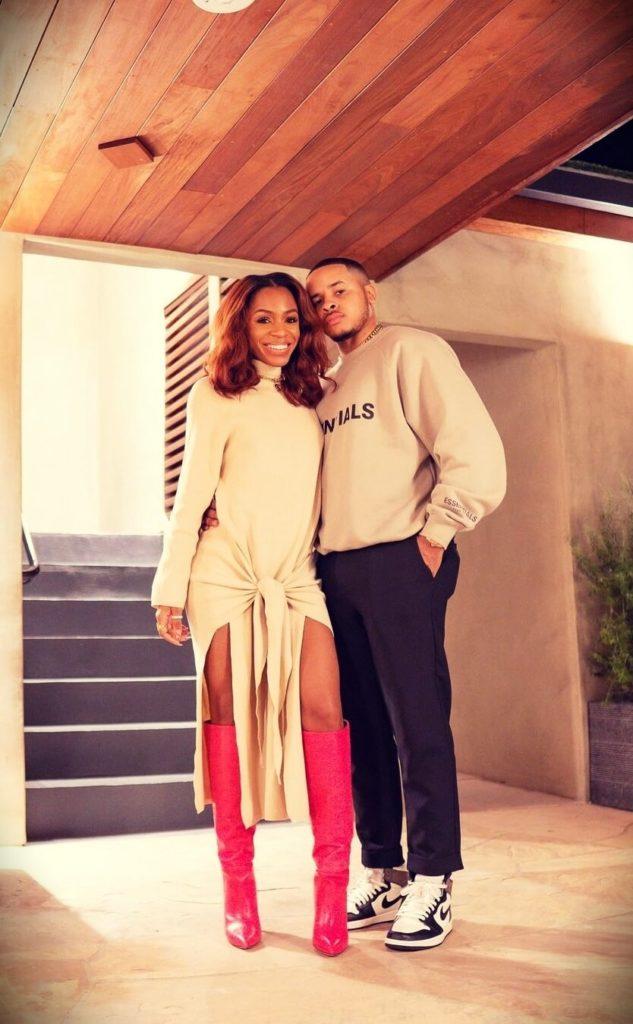 Vicky Logan with her husband Cameron Logan