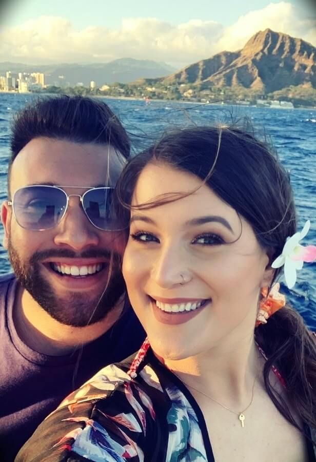 Jessi Smiles with her husband Nassim Ssimou