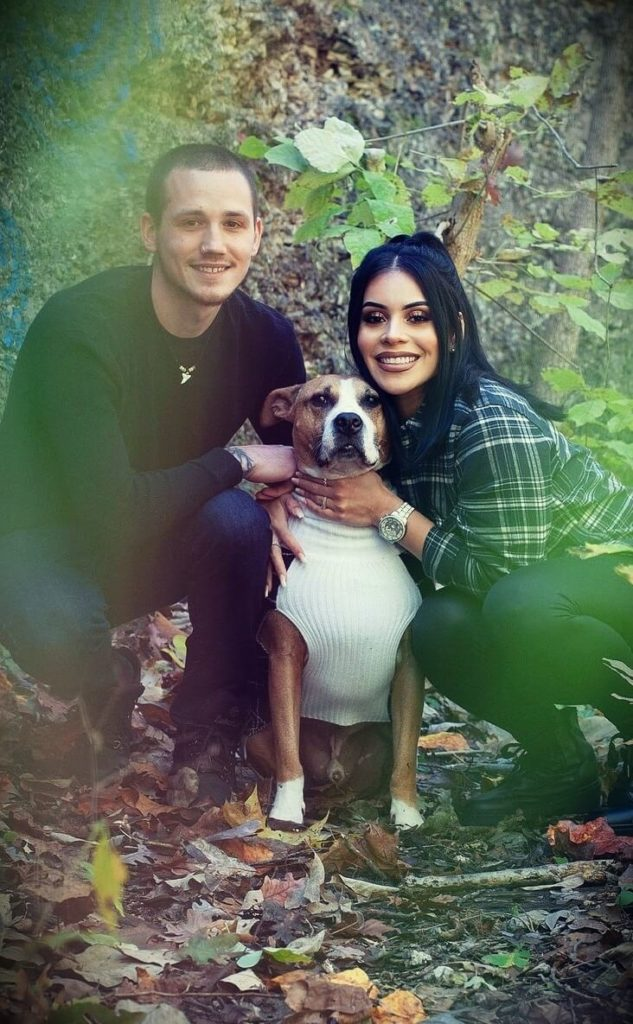 Jasmine (juicyjas) with her husband Hector