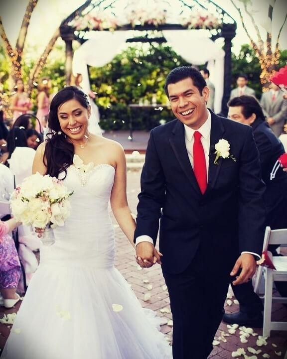 Tiffany Garcia aka Cupquake aka TiffyQuake with her husband redb15